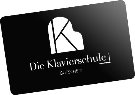 Gutscheinkarte der Klavierschule Ulm